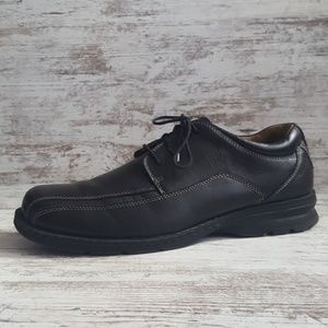 Dockers Black Leather Comfort Oxford